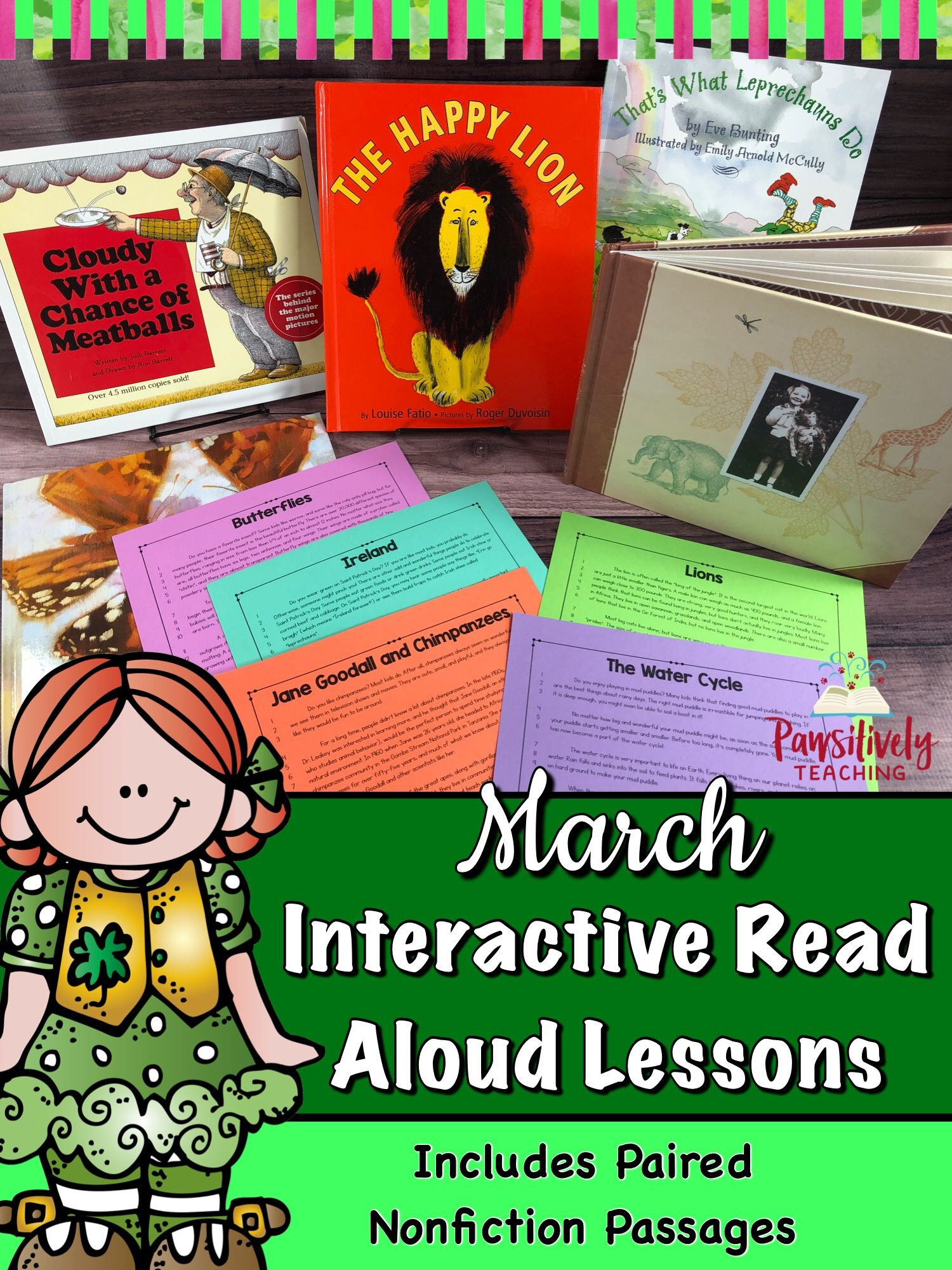 Interactive Read Aloud Lessons Amp Paired Passages March