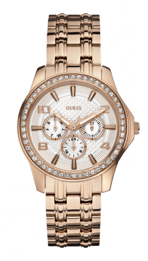 My Birthday present from my husband and kids.... Love it! Guess W0147L3 - Women's Watch | GUESS Watches