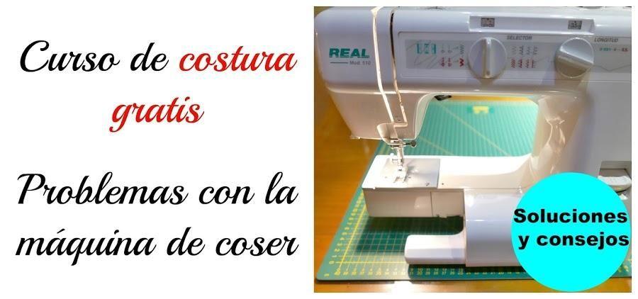 ¿Problemas con la máquina de coser? (con imágenes