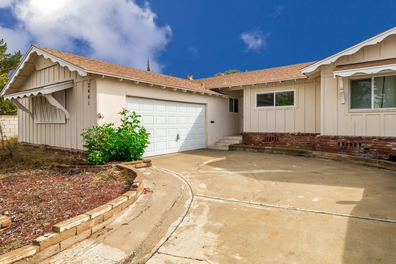 $489,000 - 4 Bedroom, 2 Bathroom, 1,626 SqFt Home for Sale in Serra Mesa.  #RealEstate #SerraMesa #SanDiego #92123 #HomesforSale #619HomeInfo