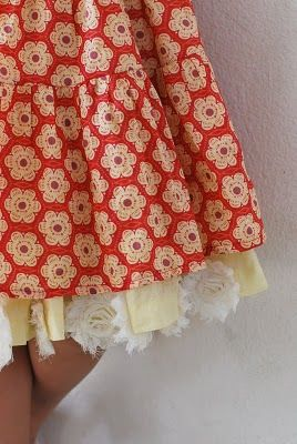Skirt with cute under...how can I do this?