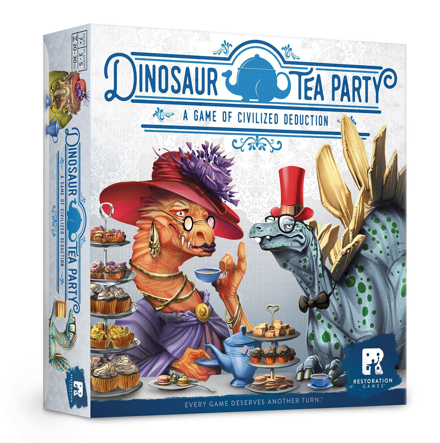 Dinosaur Tea Party Restoration Games Tea Party Games Tea Party Dinosaur Games