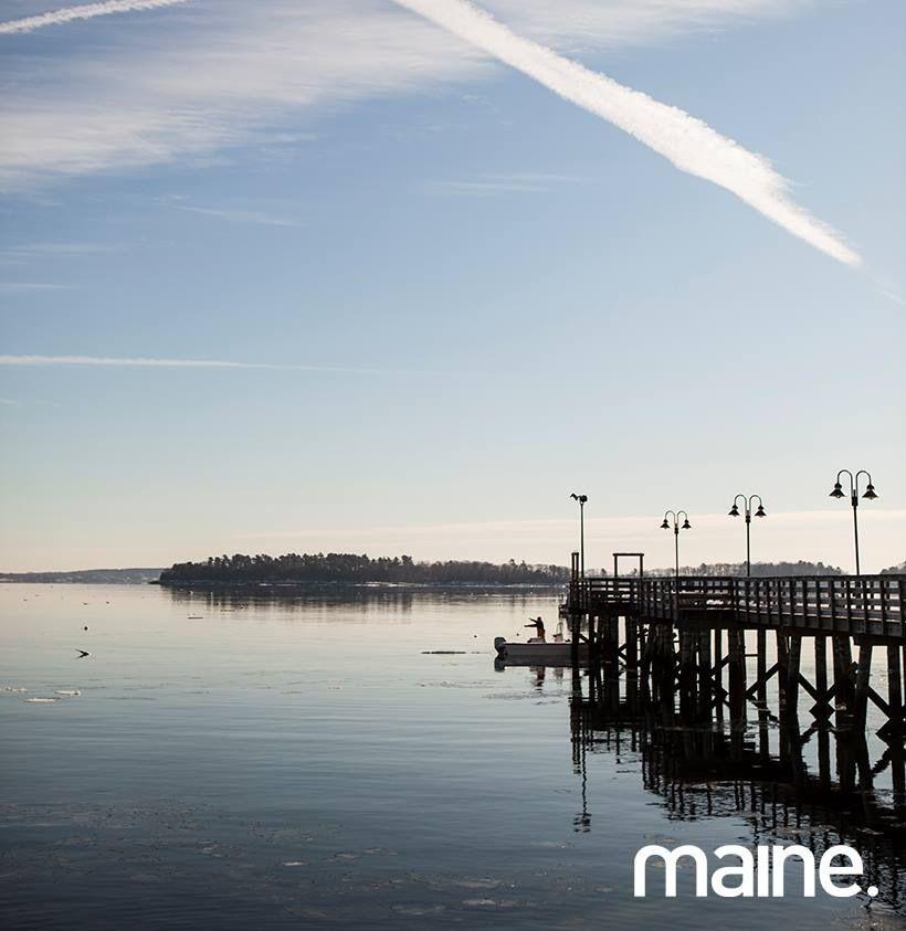 "Desert Island Beach: Maine In ME ""Home"" Family"