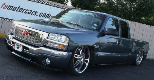 Sell Used 2006 Gmc Sierra 1500 Ext Cab Custom Slammed On 24s In