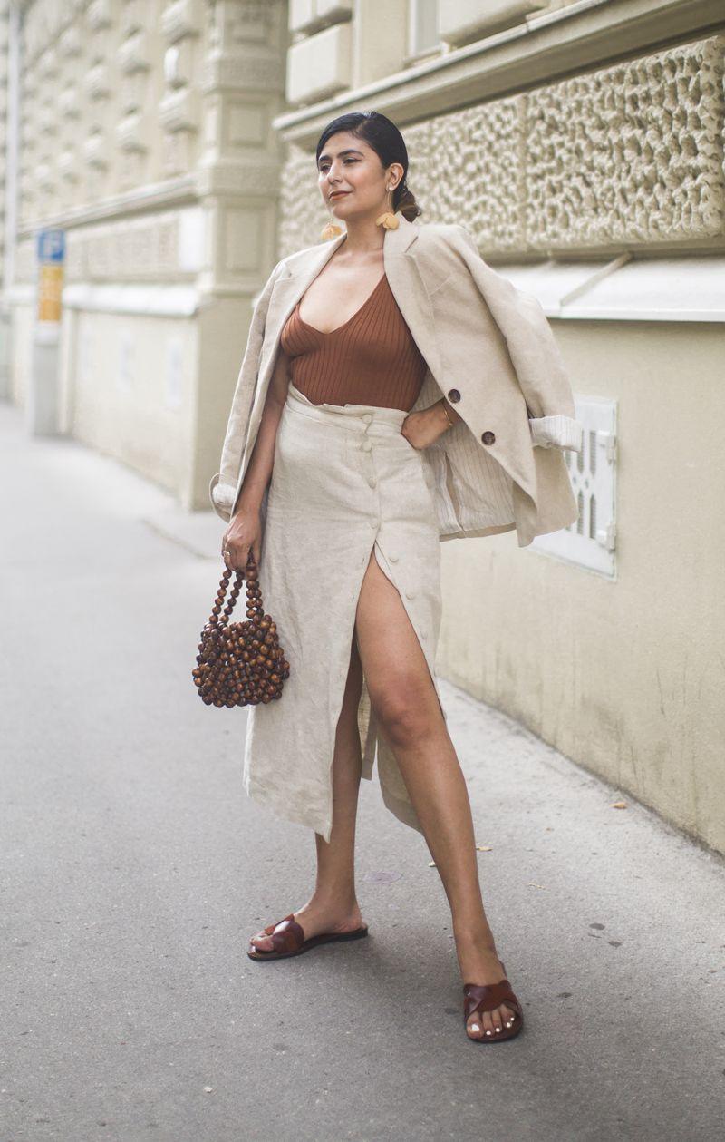 Buchstabe l küchendesign slit skirt outfit ideas fashionlandscape  f a s h i o n l