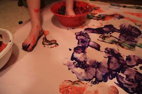 The Sparkling Martins: Foot Painting!