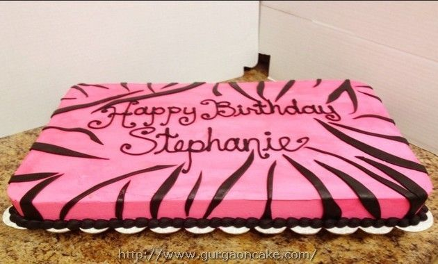 Happy Birthday Stephanie Cake Picture
