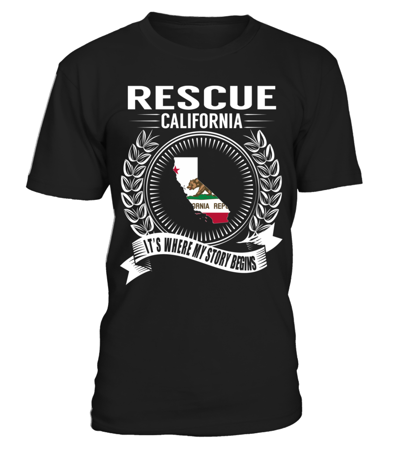 Rescue, California - My Story Begins