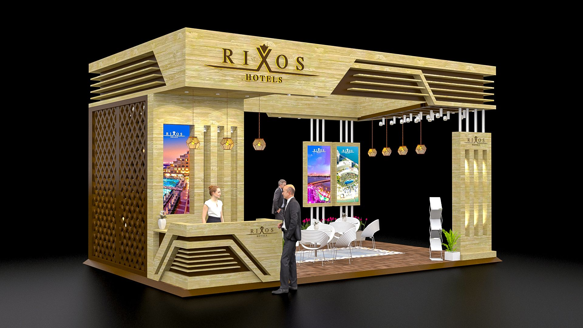 Exhibition Stall On Behance : Exhibition stall design topsimages