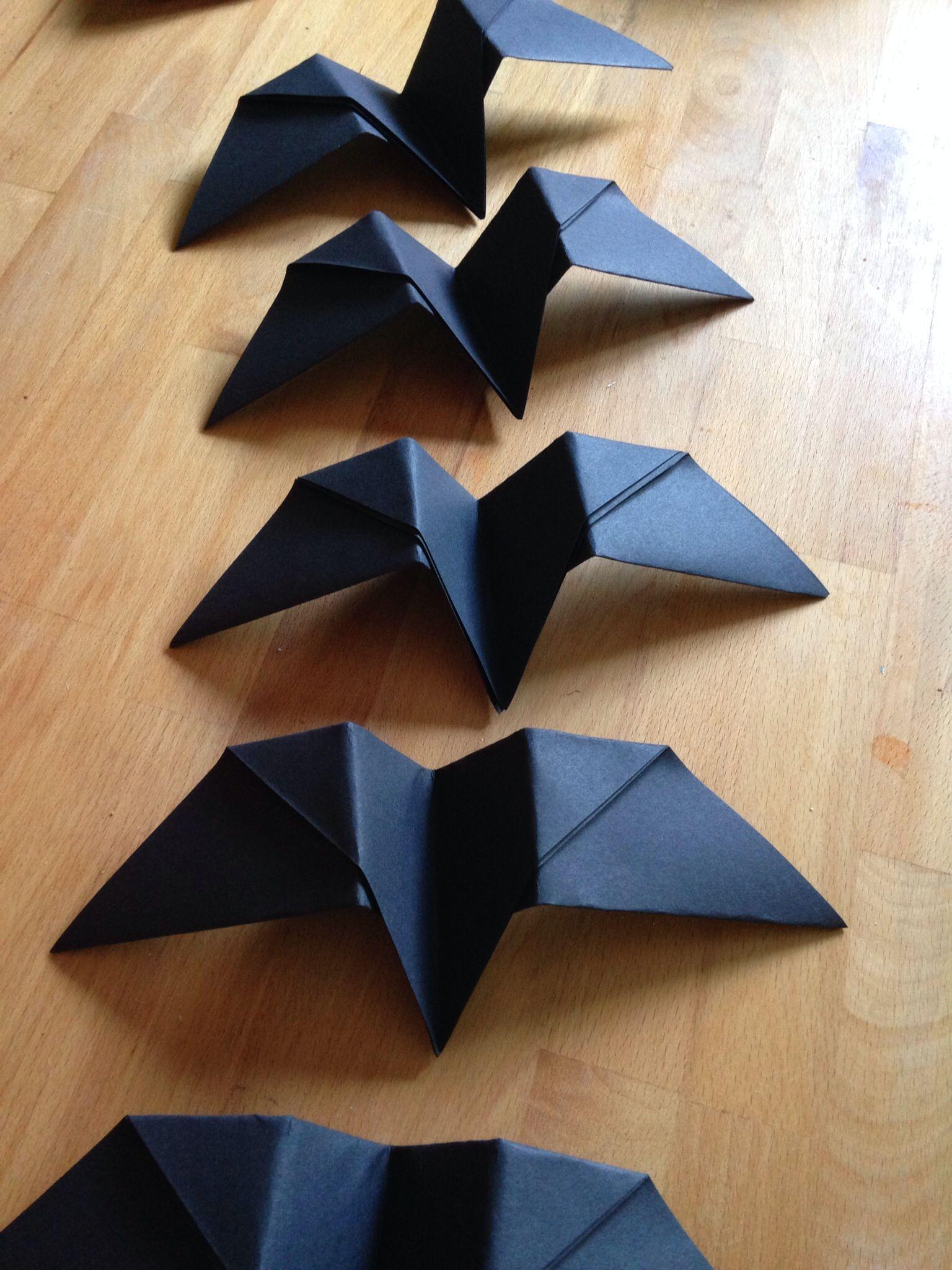 Origami Black Crows
