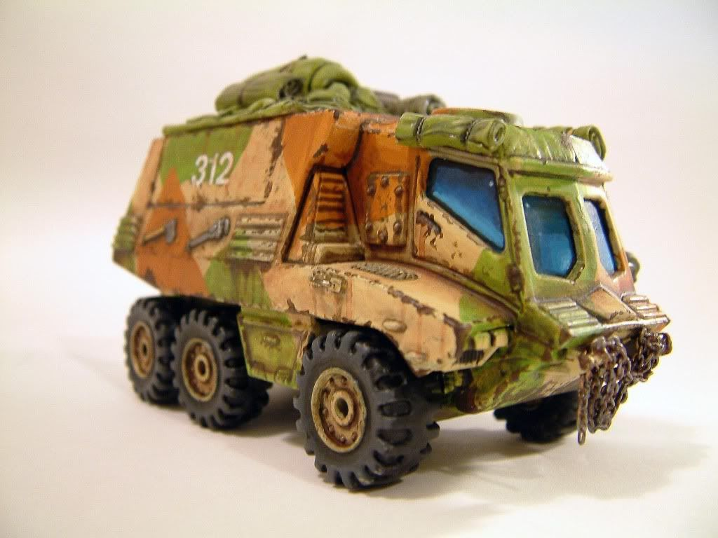28mm Sci Fi Quartermaster S Wagon