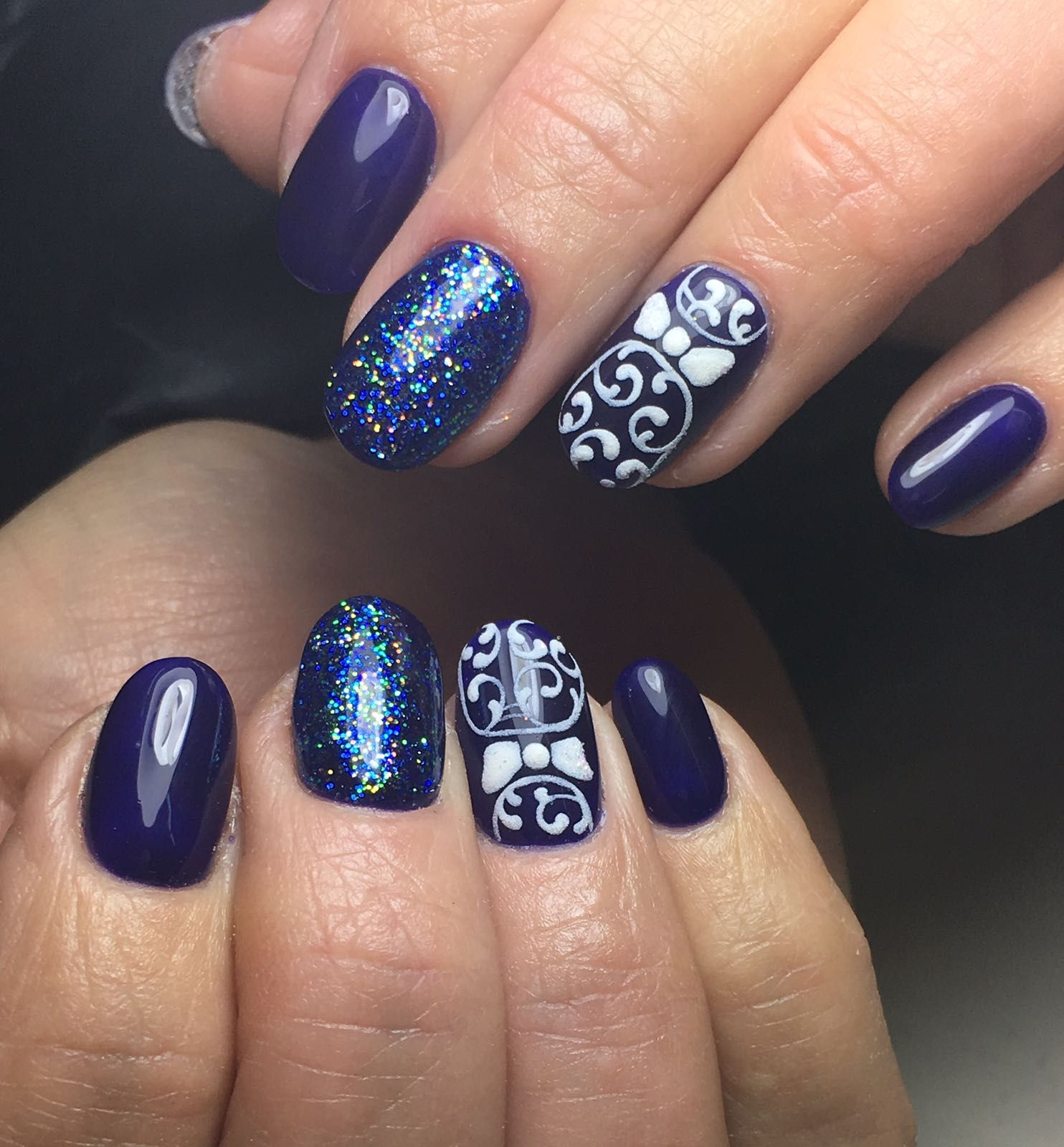 Pin by Leslie Getwood on Nail art   Pinterest   Salon nails and Salons