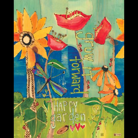 Happy Garden Art Pole 20 | Garden art, Gardens and Peace pole