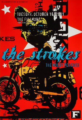 The Strokes at The Filmore, 2001