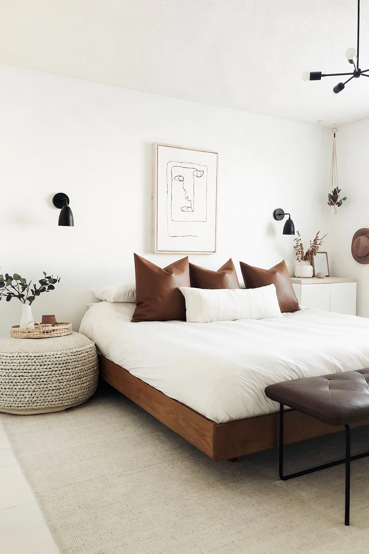Basi Walnut Queen Bed Frame In 2020 Bedroom Interior Bedroom Refresh Bedroom Inspirations