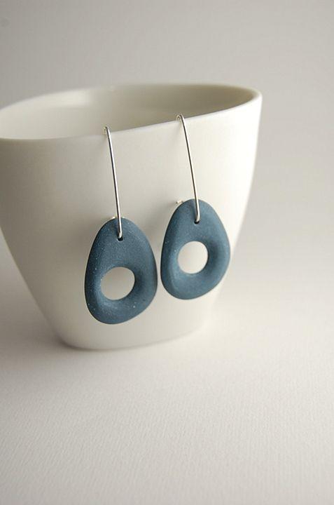 Bone Series Earrings in Turquoise