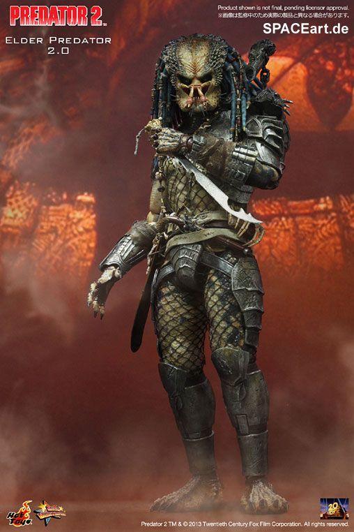 Predator 2: Elder Predator, Voll bewegliche Deluxe-Figur ... http://spaceart.de/produkte/spa002.php