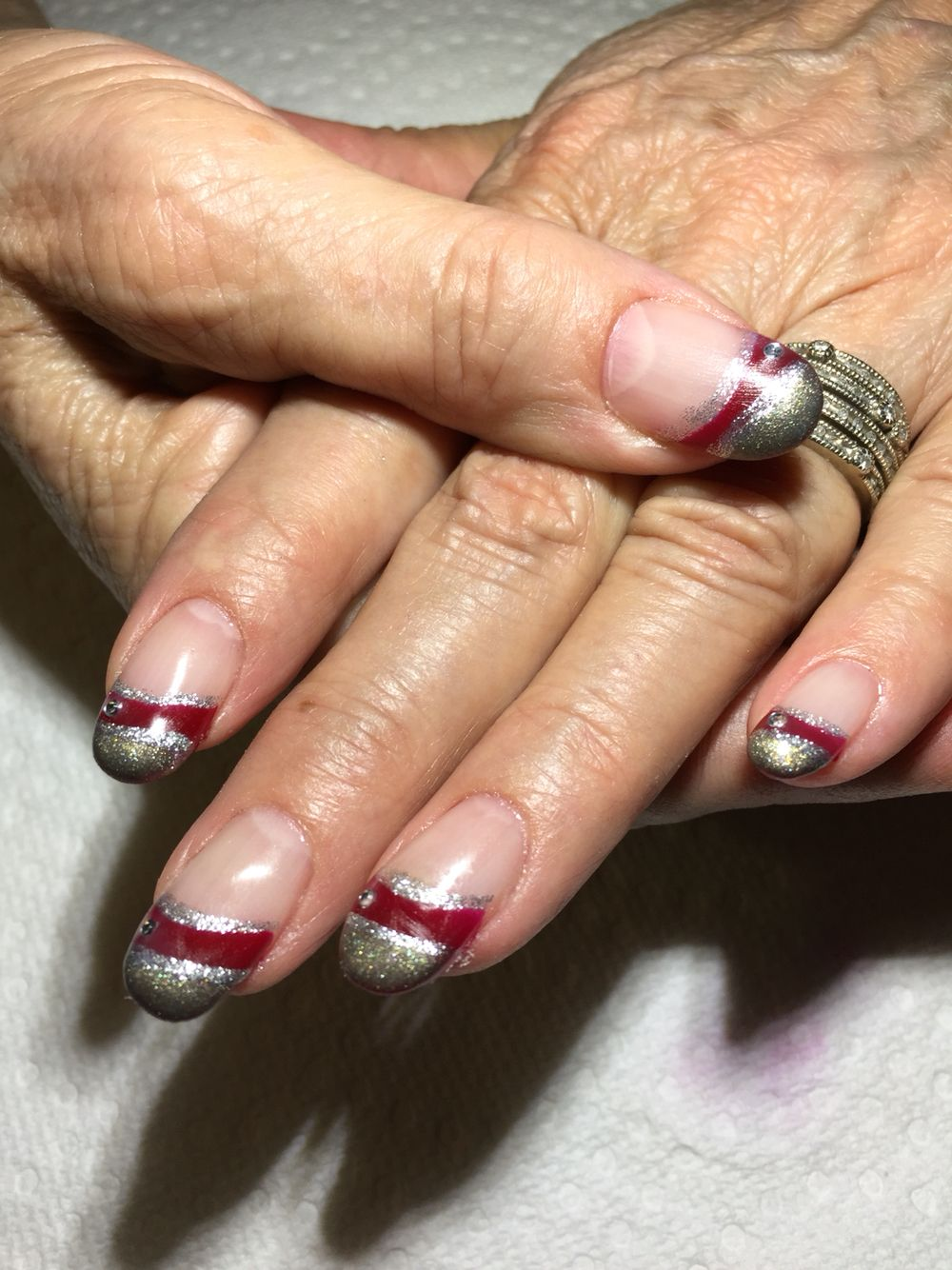 Gel on natural nails nails pinterest natural nails