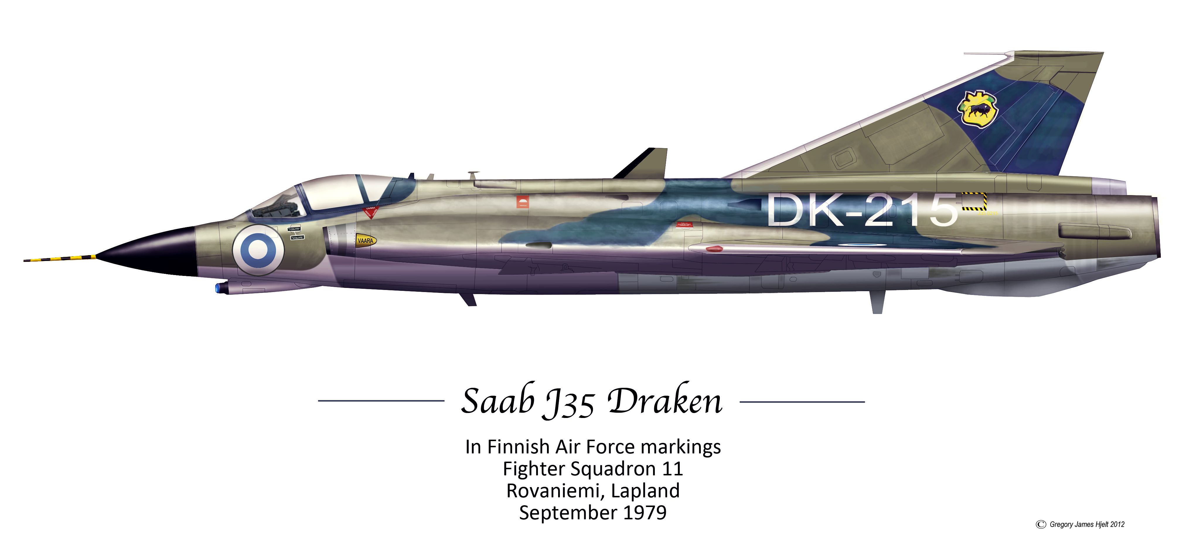 Saab J35 Draken Finnish Air Force. Aircraft Profiles