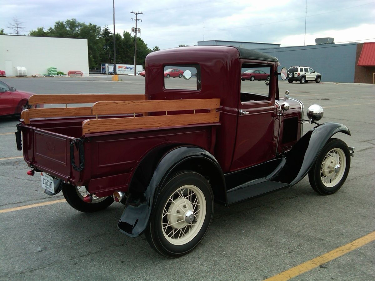 Curbside Classic 1930 Ford Model A Pickup The Modern Pickup Is