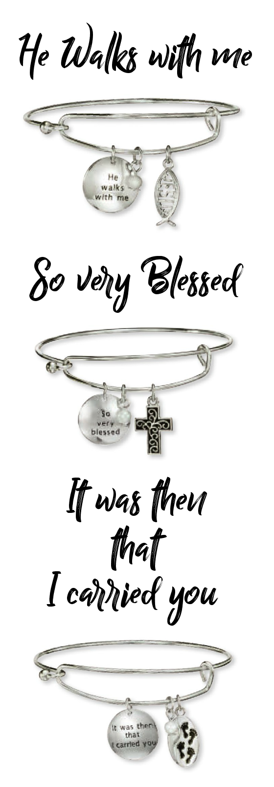 Preciuos Charms Bracelet Religious Collection