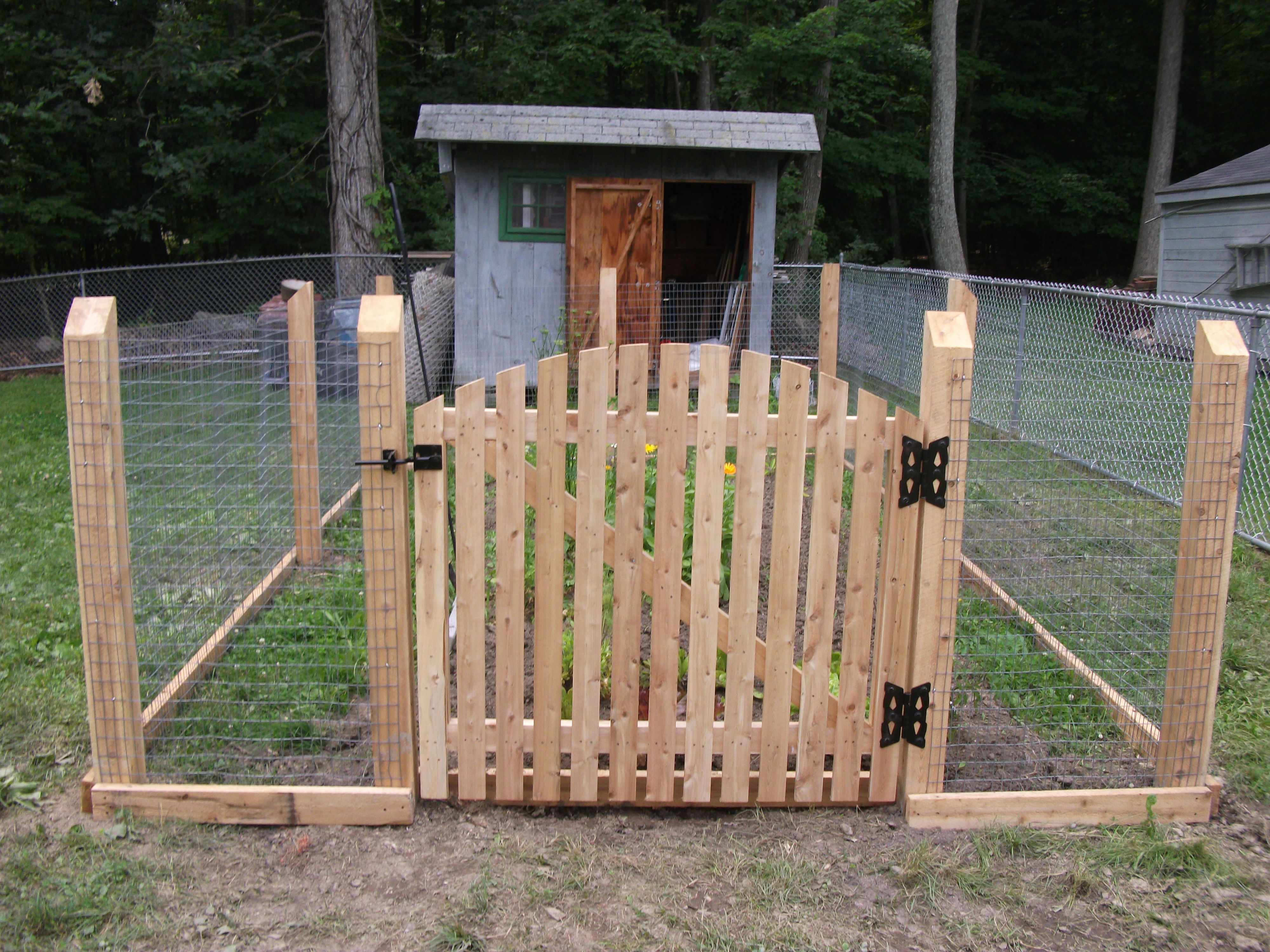Fence Gate Post And Rail Welded Wire Styles Protection