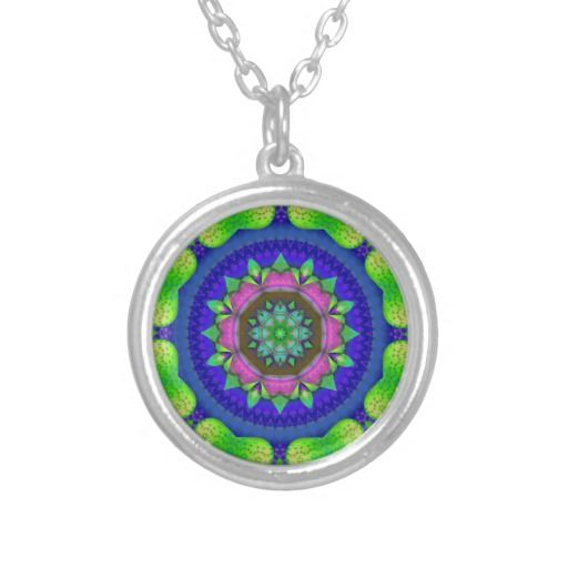 Colored Kaleidoscope Necklace
