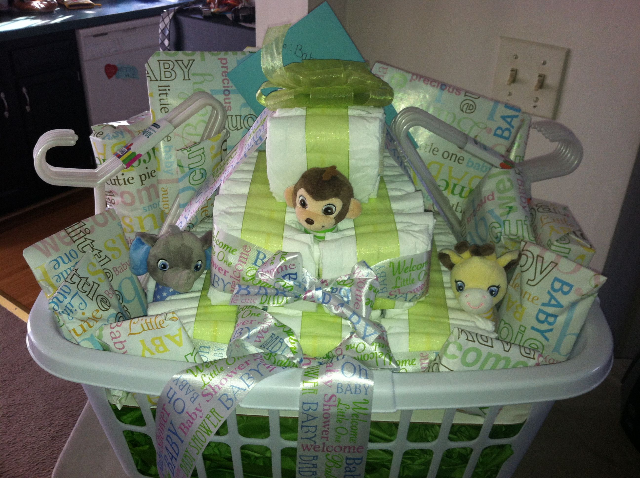 Baby Shower Gifts Crafts ~ Baby shower gift basket gifts baby shower gift