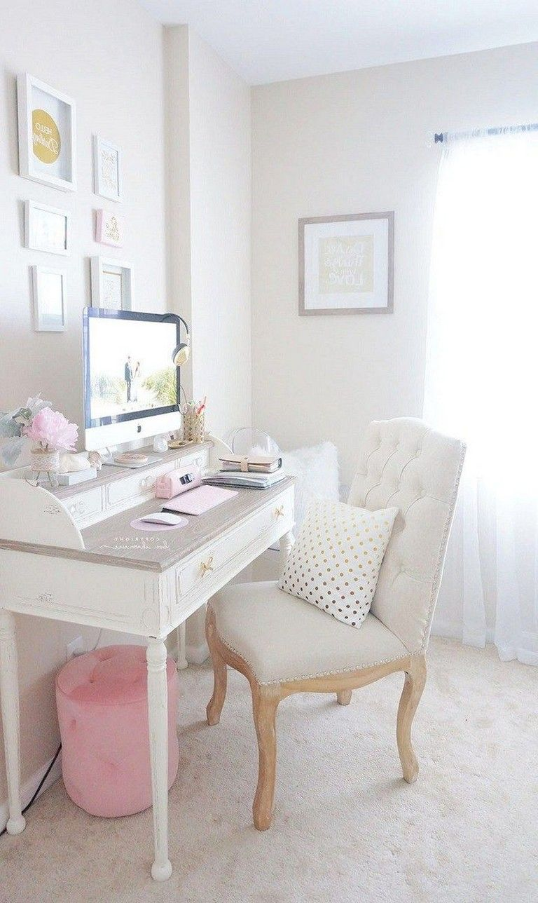 30 Exciting Diy Home Office Desk Ideas With Images Feminine