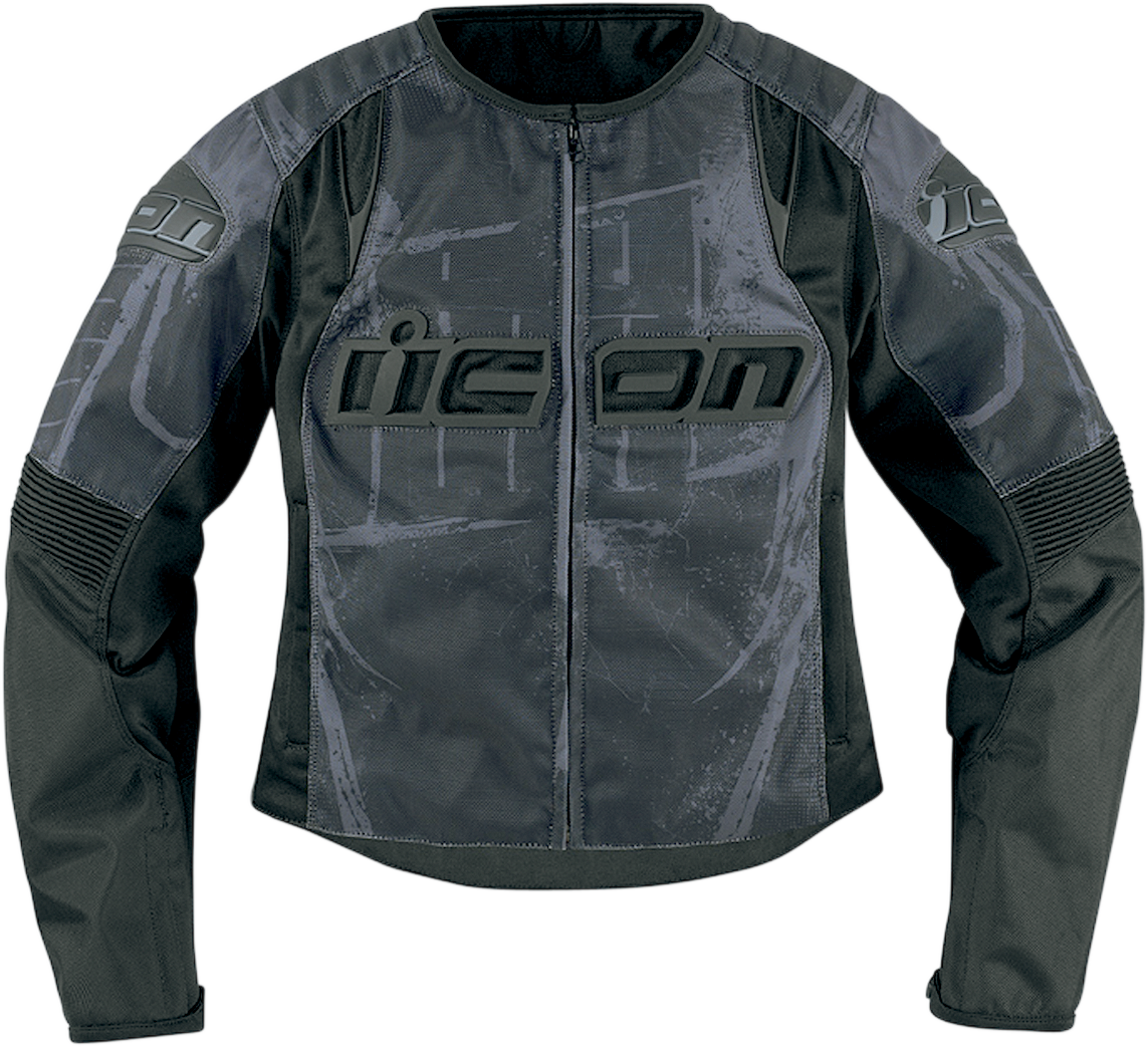 Overlord Type 1 Jacket Black Products Ride Icon