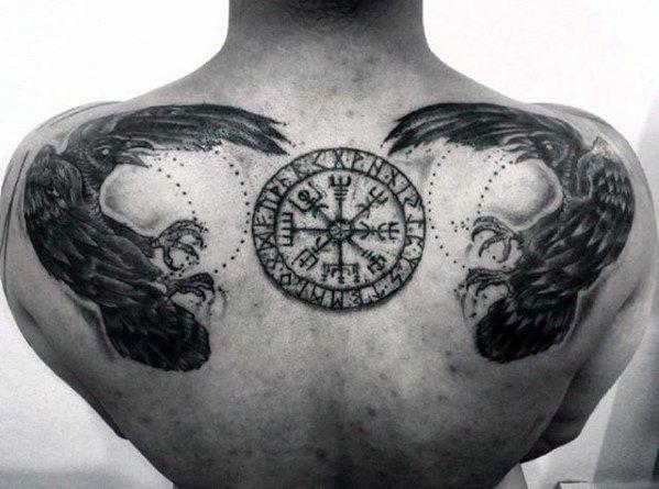 Fotos De Tatuagem Da Bussola Viking Fotos De Tatuagens Tatuagem Bussola Viking Tatuagens Nas Costas Para Homens Tatuagem Bussola