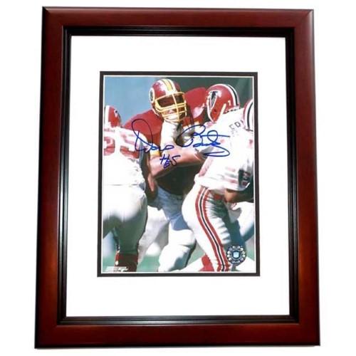 8 x 10 in. Dave Butz Autographed Washington Redskins Photo, Mahogany ...