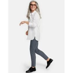 Photo of Gerry Weber 7/8 trousers with minimal design slim fit blue women Gerry WeberGerry Weber