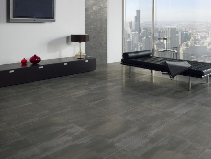 Make A Statement With Large Floor Tiles Flooring And Tile