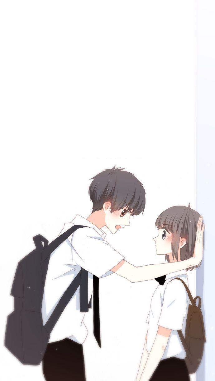 Pin Oleh Habii Jum Di Hờ Hờ Hờ Ilustrasi Karakter Pasangan Animasi Chibi