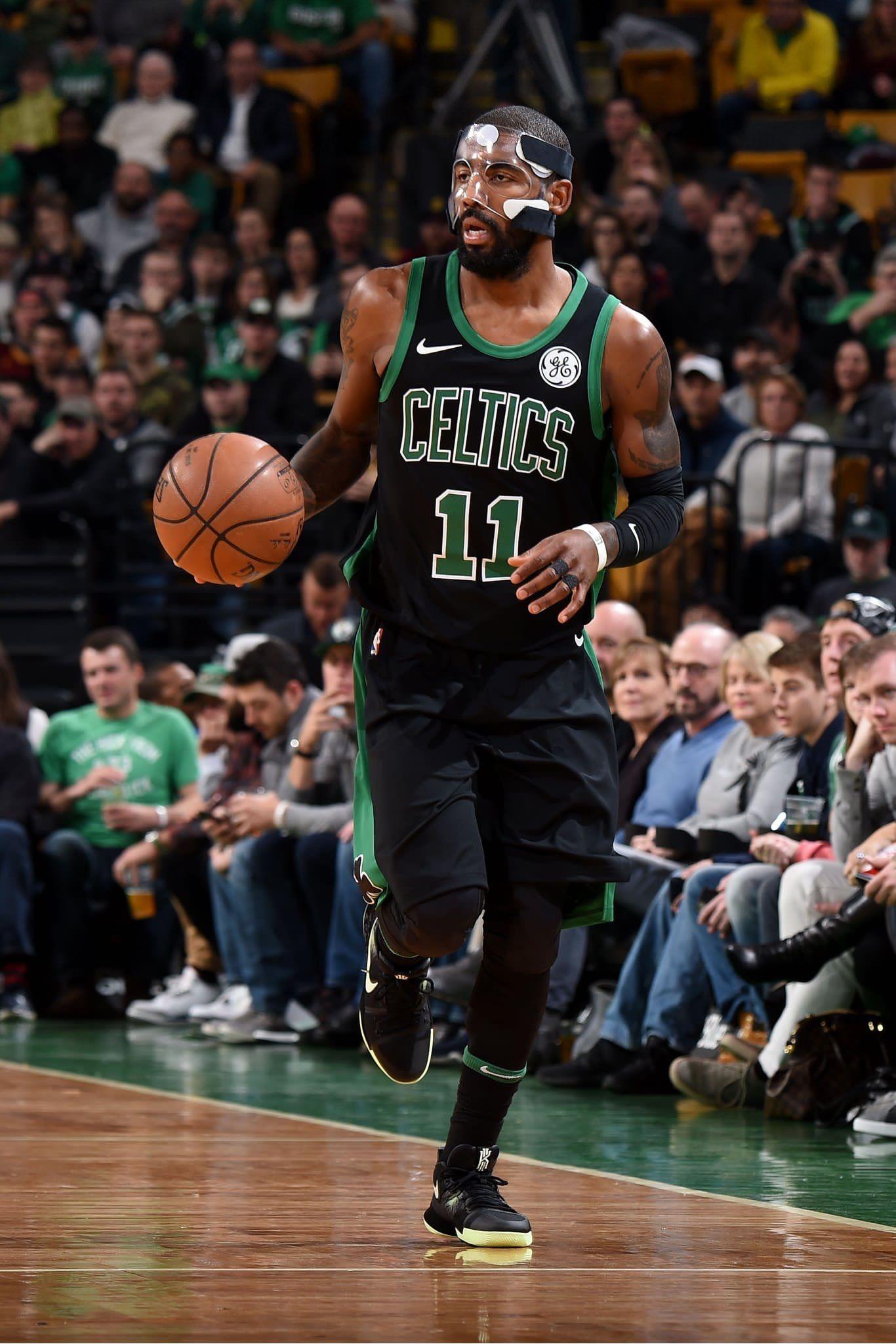 9daa2510c34 KyrieIrving in Celtics Statement uniform. | Nba | Basketball, Nba ...