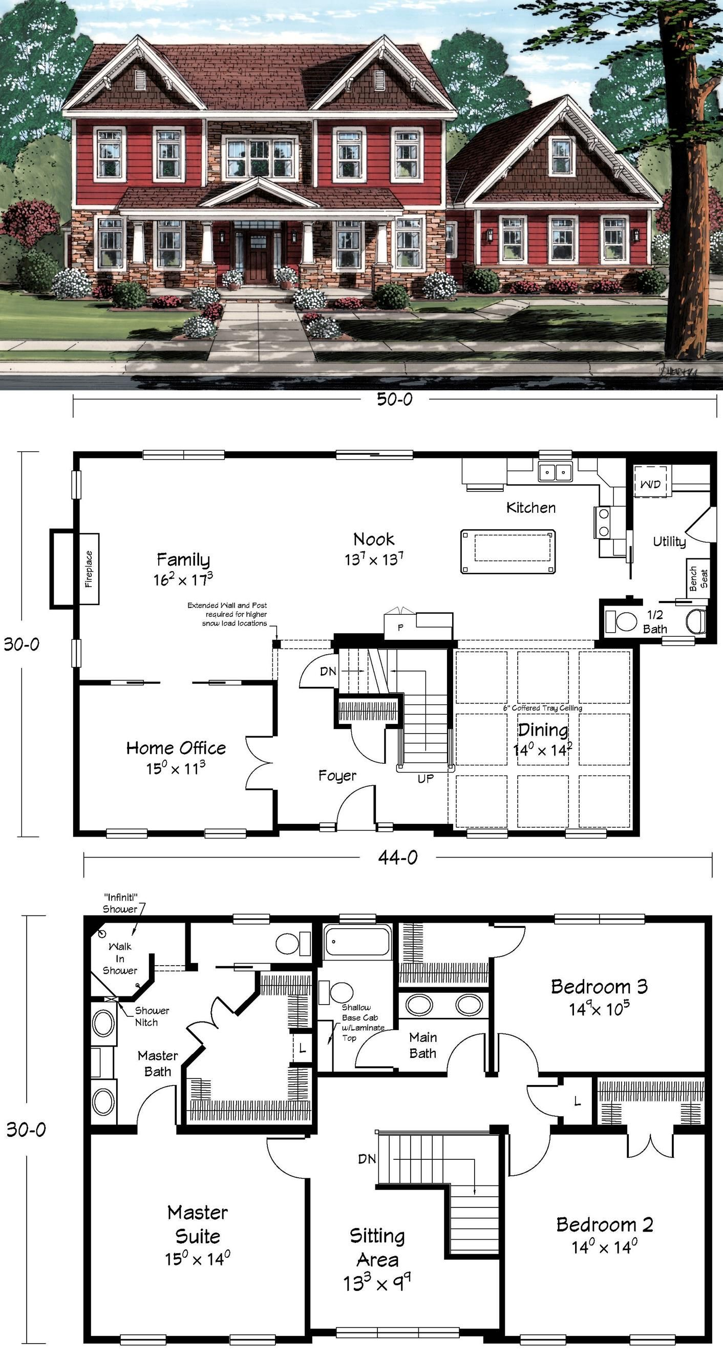 This is the ultimate two-story home. | floor plans | Pinterest ...
