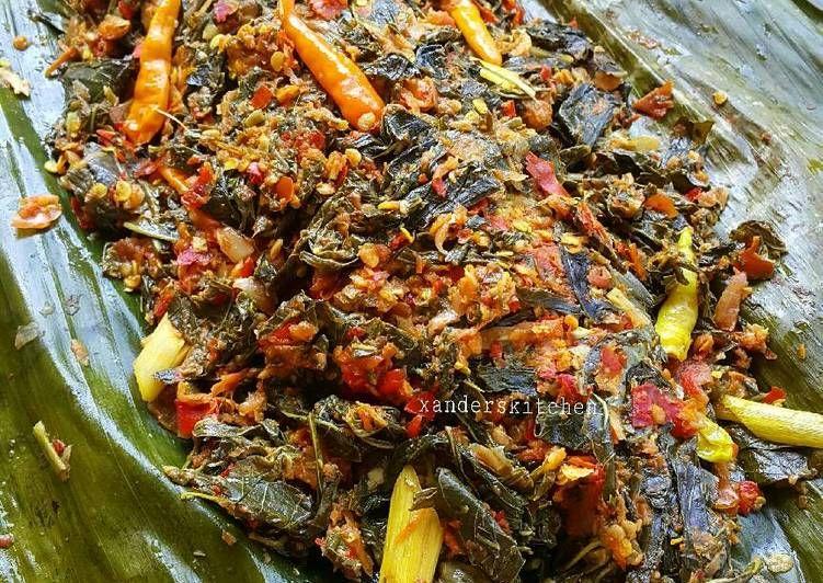 Resep Pepes Kembung Daun Singkong Oleh Xander S Kitchen Resep Resep Seafood Masakan Indonesia Makanan Dan Minuman