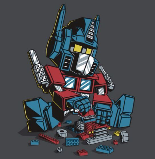 Autoblocks. Cool tshirt for Optimus Prime / Transformers and Lego Fans.   Available at TeeFury or Re... - #autoblocks #available #optimus #prime #teefury #transformers #Tshirt - #LegoPeople
