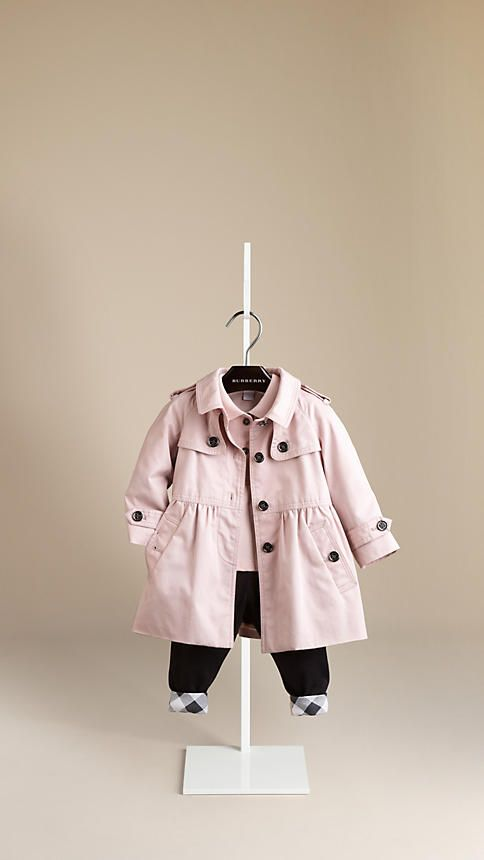 Cotton Twill Trench Coat   Burberry