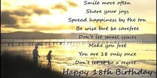18 Birthday Girl Google Search Happy 18th Birthday Quotes Birthday Wishes For Son Birthday Wishes For Daughter