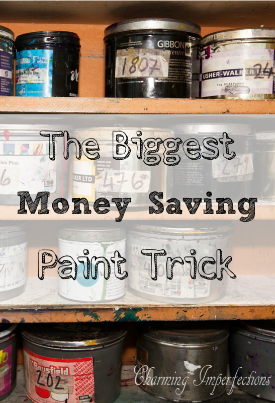 Charming The Biggest Money Saving Paint Trick . Here Is A Tip That Will Save You  Money For Your Home U0026 Furniture Remodeling .