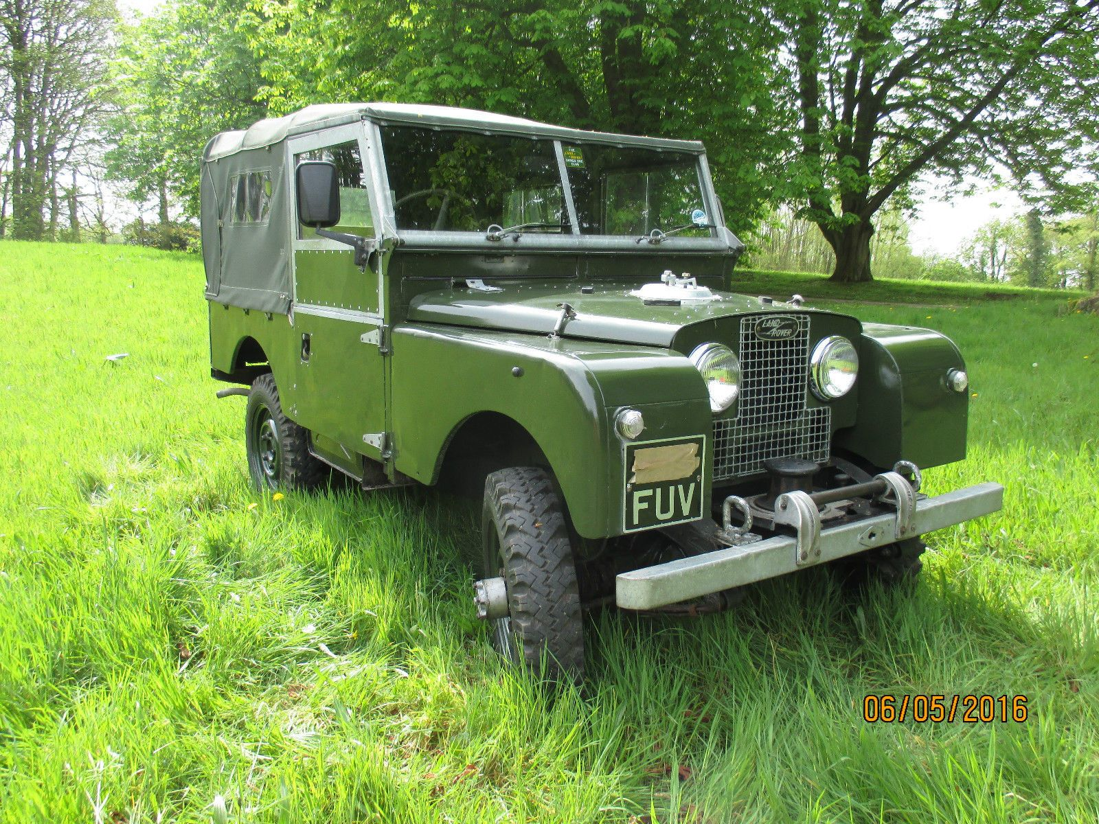 Land Rover Series One 1958 88\