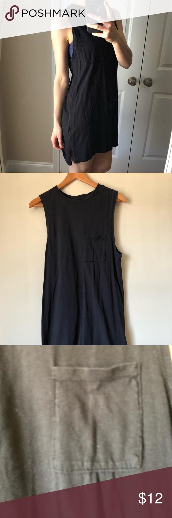 Is a black dress ok to wear to a wedding  Urban outfitters black mini tshirt dress  My Posh picks