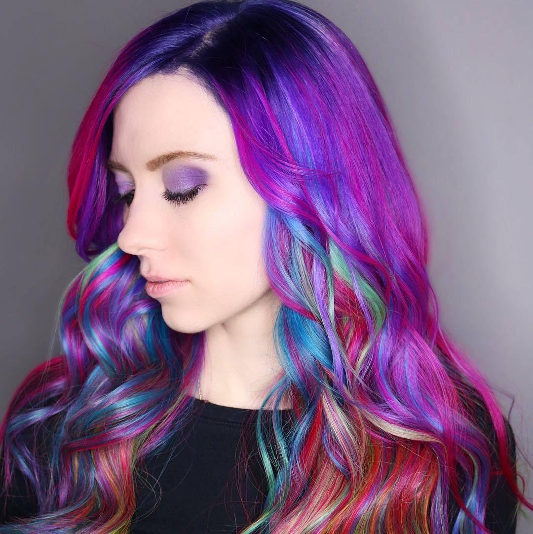 neon hair battle hair cut in pinterest hair blue hair