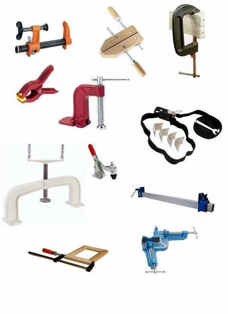 Types Of Clamps >> Pin By Roman Petru On Woodworking Workshop Woodworking Clamps
