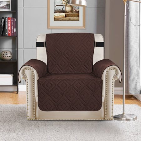 Primebeau Faux Suede Furniture Protector Stay In Place Reversible
