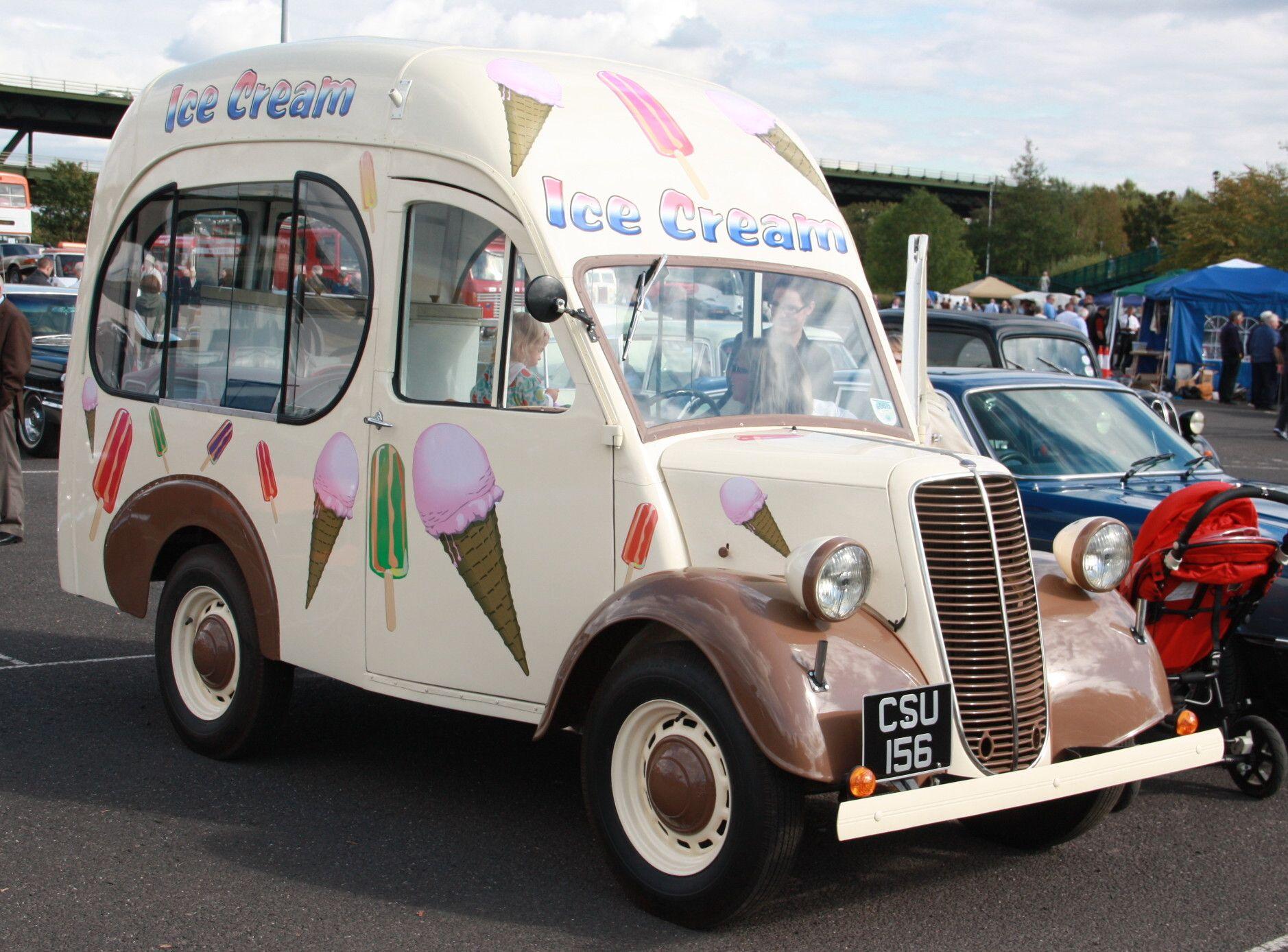1952 Fordson Ice Cream Van Ice Cream Van Vans Commercial Vehicle