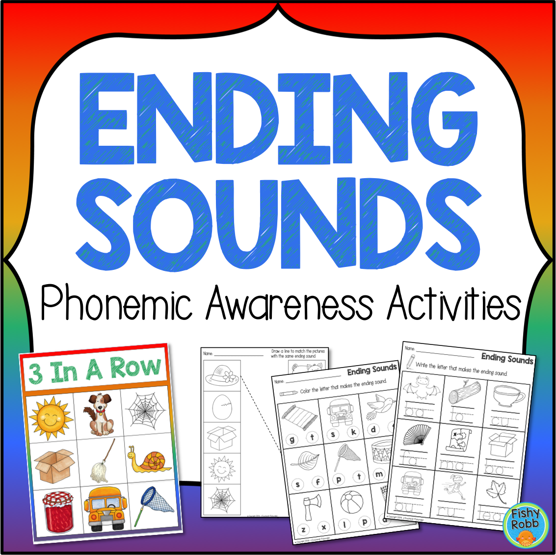 Ending Sounds Phonemic Awareness