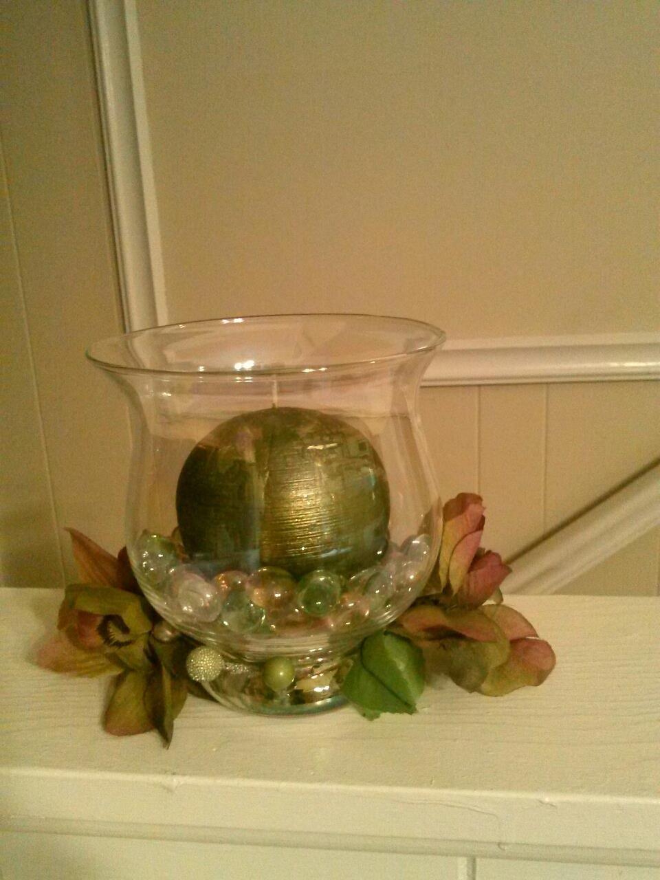 Velas aromaticas  y a la vez decorativas!